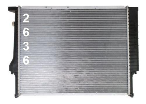 radiador de bmw 320 323 325 328 330 1999 - 2006 nuevo!!!