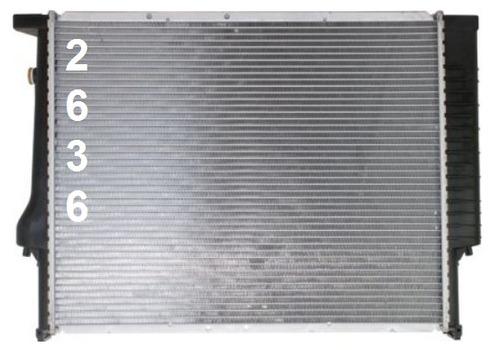 radiador de bmw z4 automatico 2003 - 2008 nuevo!!!