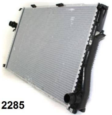 radiador de bmw z8 4.9l 5.0l v8 2000 - 2003 nuevo!!!
