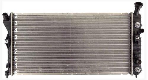 radiador de buick regal 3.8l v6 2000 - 2004 nuevo!!!