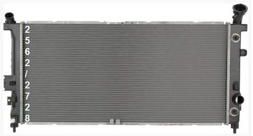 radiador de buick terraza 3.5l v6 2005 - 2006 nuevo!!!