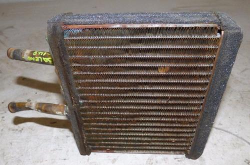 radiador de calefacción con detalle suzuki baleno 1996-2002