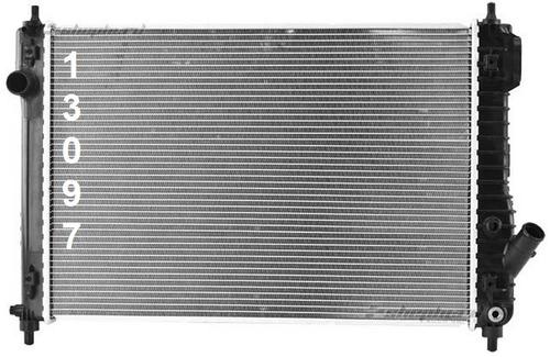 radiador de chevrolet aveo 1.6l l4 2009 - 2011 nuevo!!!