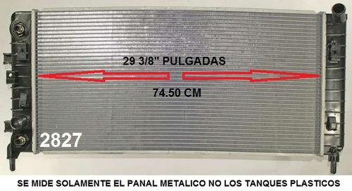 radiador de chevrolet impala 3.5l y 3.9l v6 2006 - 2011