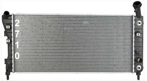 radiador de chevrolet monte carlo 3.4l y 3.8l v6 2004 - 2005