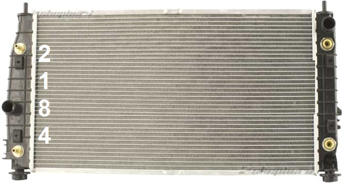 radiador de chrysler 300 / 300m 3.5l v6 1999 - 2004 nuevo!!!