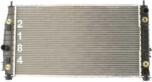 radiador de chrysler lhs 3.5l v6 1999 - 2001 nuevo!!!