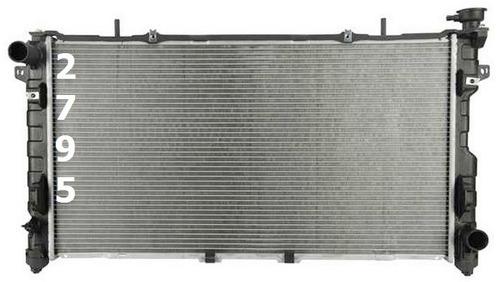 radiador de chrysler voyager 3.3l 3.8l v6 2005 - 2007 nuevo!