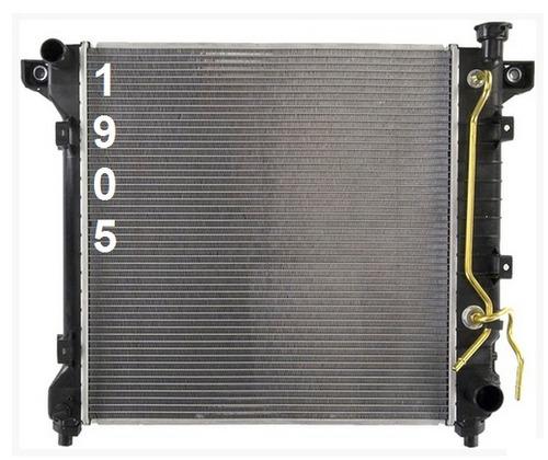 radiador de dodge durango 1998 - 2000 nuevo!!!!