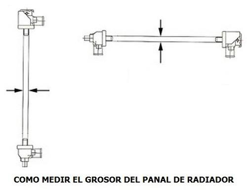 radiador de dodge magnum 2005 - 2008 nuevo!!!