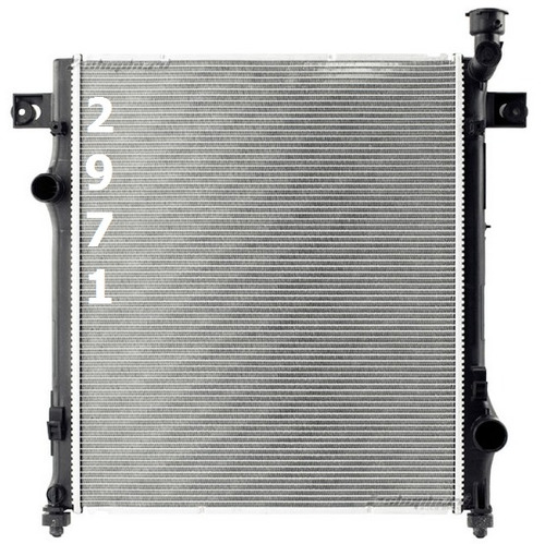 radiador de dodge nitro 3.7l 4.0l v6 2007 - 2011 nuevo!!!