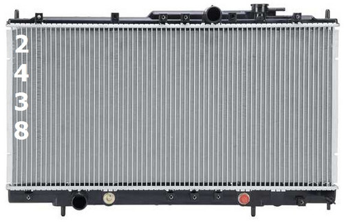 radiador de dodge stratus coupe 2.4l l4 2001 - 2005 nuevo!!!