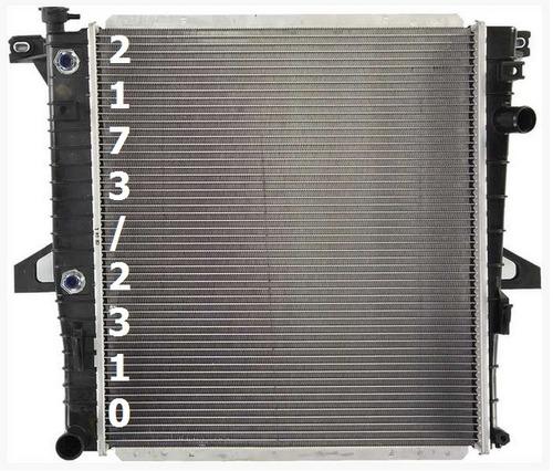 radiador de ford explorer 4.0l v6 1998 - 2001 nuevo!!!