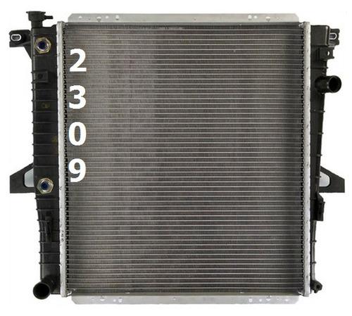 radiador de ford explorer 4.0l v6 2000 - 2001 nuevo!!!