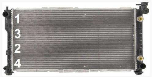 radiador de ford probe 2.0l l4 1993 - 1997 nuevo!!!