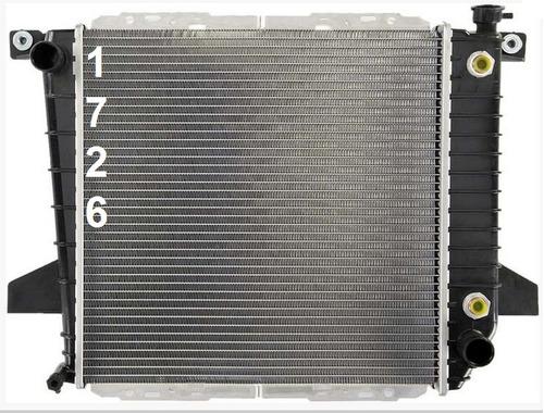 radiador de ford ranger 2.3l l4 1995 - 1997 nuevo!!!