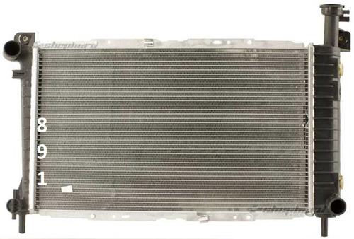 radiador de ford taurus 2.5l l4 3.0l v6 1986 - 1993 nuevo!!!