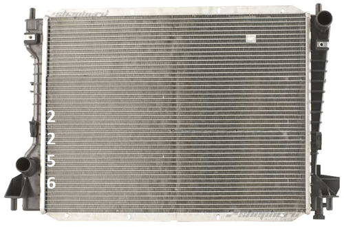 radiador de ford thunderbird 3.9l v8 2002 - 2005 nuevo!!!