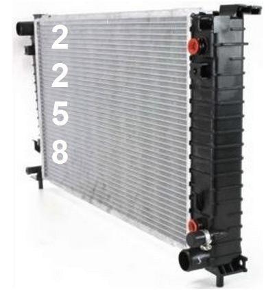 radiador de ford windstar 3.0l 3.8l v6 1999 - 2003 nuevo!!!