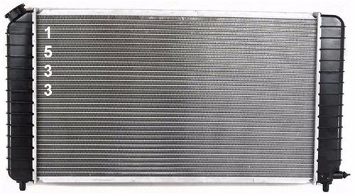 radiador de gmc jimmy 4.3l v6 1995 - 1995 nuevo!!!