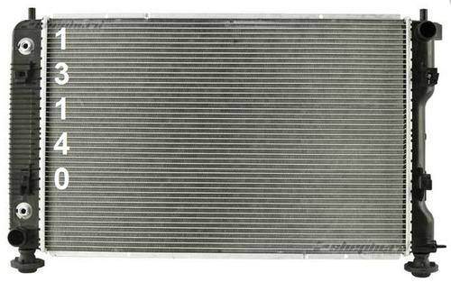radiador de gmc terrain 2.4l l4 2010 - 2017 nuevo!!!