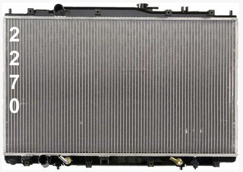 radiador de honda odyssey 3.5l v6 1999 - 2004 nuevo!!!