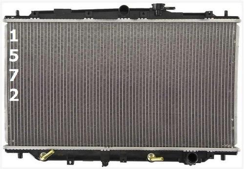 radiador de honda prelude 2.2l 2.3l l4 1992 - 1996 nuevo!!!