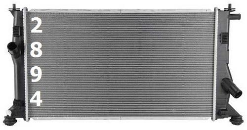 radiador de mazda 5 mazda5 2.3l l4 2006 - 2010 nuevo!!!