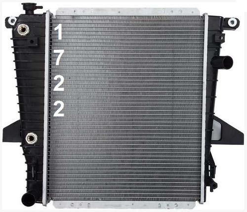 radiador de mazda b4000 4.0l v6 1995 - 1997 nuevo!!!