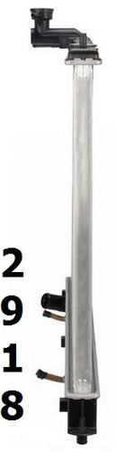 radiador de mazda cx-7 cx7 2.3l l4 2007 - 2009 nuevo!!!