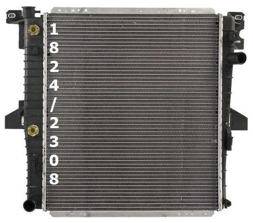 radiador de mercury mountaineer 5.0l v8 1997 - 1999 nuevo!!!