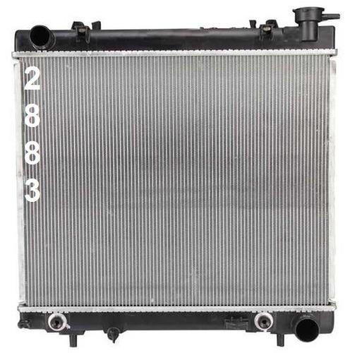 radiador de mitsubishi raider 3.7l 4.7l 2006 - 2009 nuevo!!!