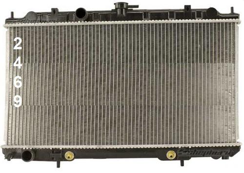 radiador de nissan sentra 2.5l l4 2002 - 2006 nuevo!!!