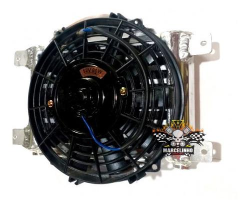 radiador de óleo com ventoinha