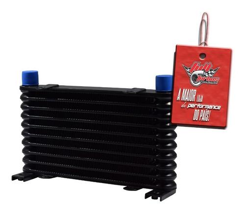 radiador de óleo universal 10 linhas com saídas 10an