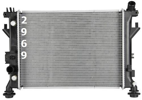 radiador de pontiac solstice 2.4l l4 2006 - 2009 nuevo!!!