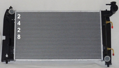 radiador de pontiac vibe 1.8l l4 2003 - 2008 nuevo!!!