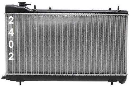 radiador de subaru forester 1999 - 2002 nuevo!!!
