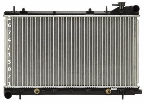 radiador de subaru forester 2.5l h4 no turbo 2003 - 2008
