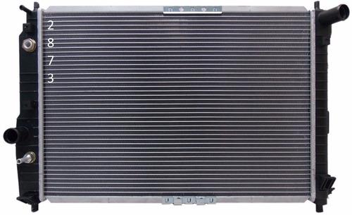 radiador de suzuki swift 2007 - 2009 con aire acondicionado