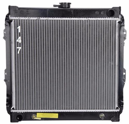 radiador de toyota 4runner 2.4l l4 1984 - 1988 nuevo!!!