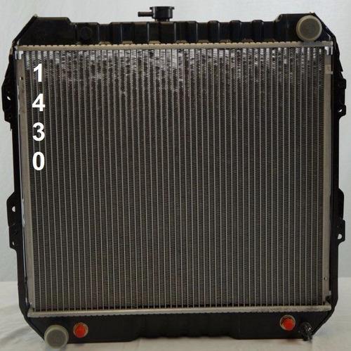 radiador de toyota 4runner 2.4l l4 1989 - 1995 nuevo!!!