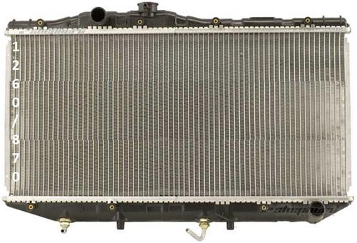 radiador de toyota camry 2.0l l4 1987 - 1991 nuevo!!!