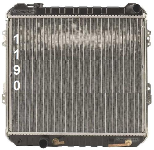 radiador de toyota pickup 3.0l v6 rwd 1989 - 1995 nuevo!!!