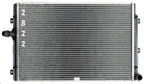 radiador de volkswagen passat 2.0l l4 2006 - 2008 nuevo!!!