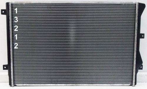 radiador de volkswagen passat 2.0l l4 2009 - 2012 nuevo!!!