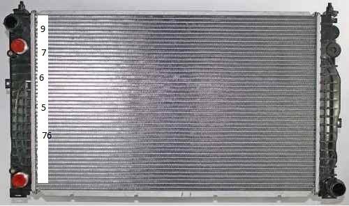radiador de volkswagen passat 2.8l v6 1998 - 2005 caldad
