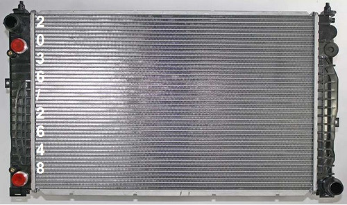 radiador de volkswagen passat 2.8l v6 1998 - 2005 nuevo!!!