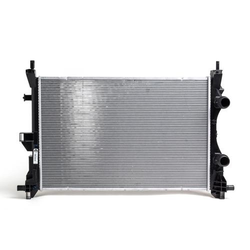 radiador del motor jeep