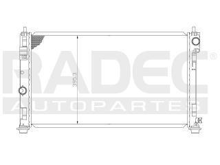 radiador dodge avenger 2010-2011-2012 l4/v6 2.4/3.5 lts auto